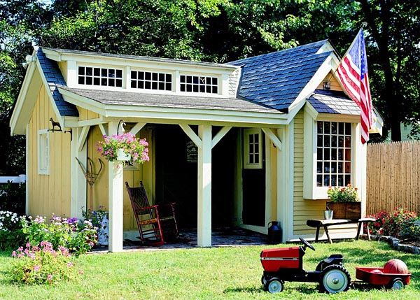 501940 - Pretty Porch Shed