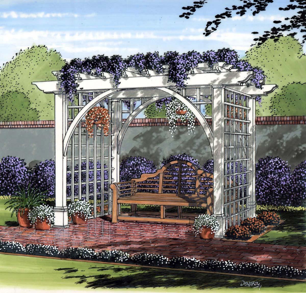 504889 - Garden Arbor