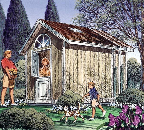 Gable Storage Shed - Project Plan 85909