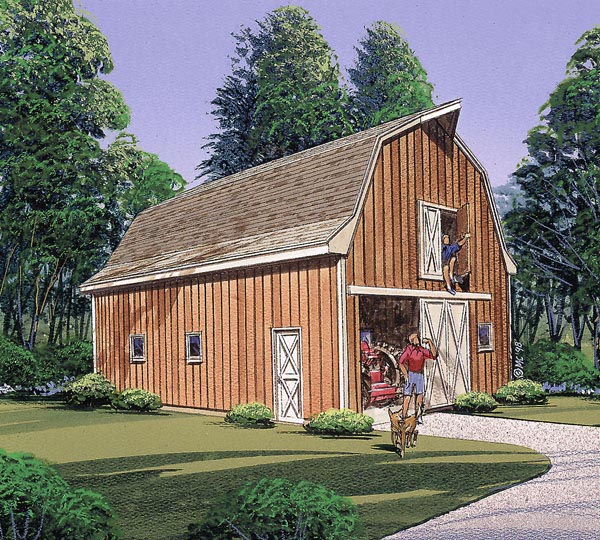85932 - Multi-Purpose Barn
