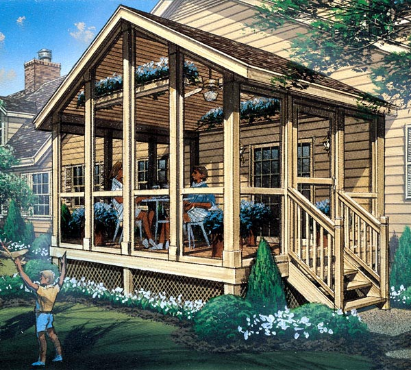 85933 - Screened Porch