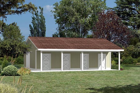 85940 - Pole Building - Horse Barn