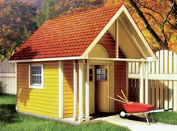 90020 - Fancy Storage Shed