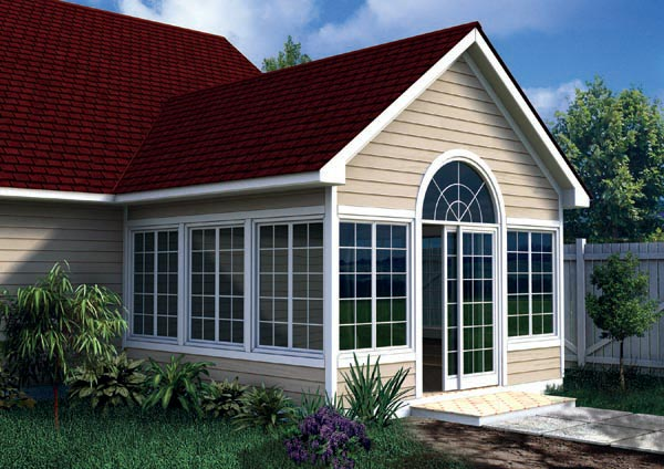 90022 - Gabled Sun Room Addition
