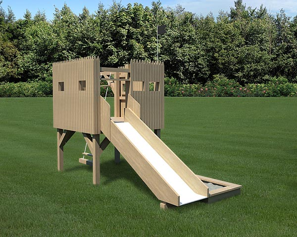 90024 - 6'x6' Stockade Playfort