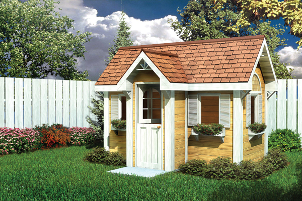 90025 - Traditional Children's Playhouse