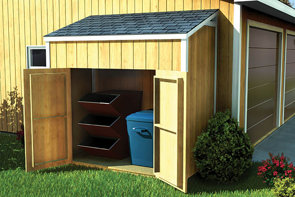 90031 - Lean-To Shed