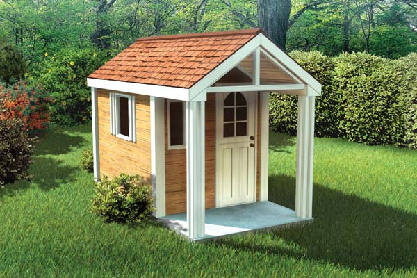 90033 - 4'x8' Childrens Playhouse