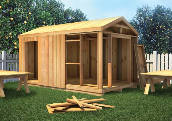90051 - The How-to-Build Shed Plan